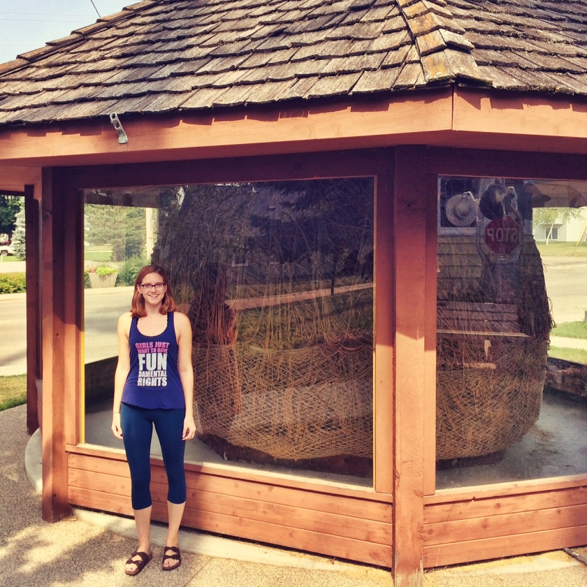 Twine Ball and Claire