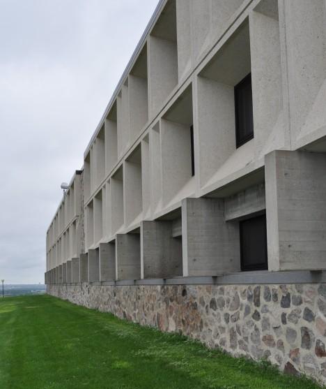 University of Mary facade of Breuer building