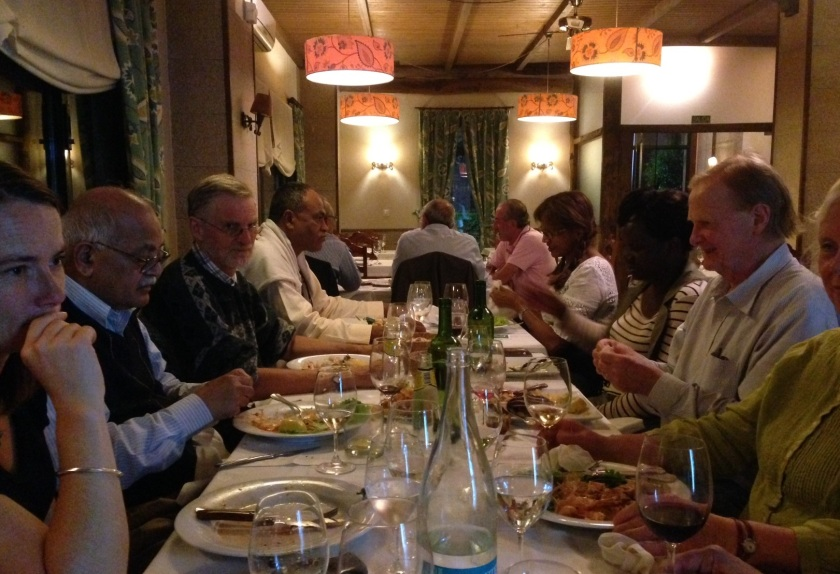 Galicia Meal with INTO Ex Comm