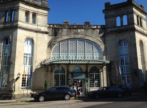 Entrance to the Spa at Mondariz