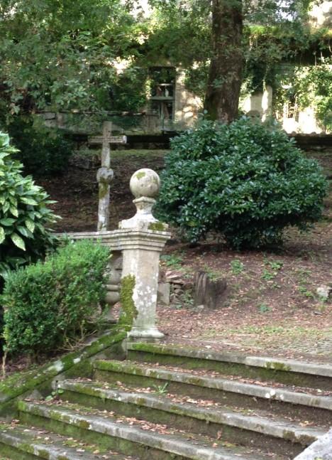 Garden at the Mondariz Spa