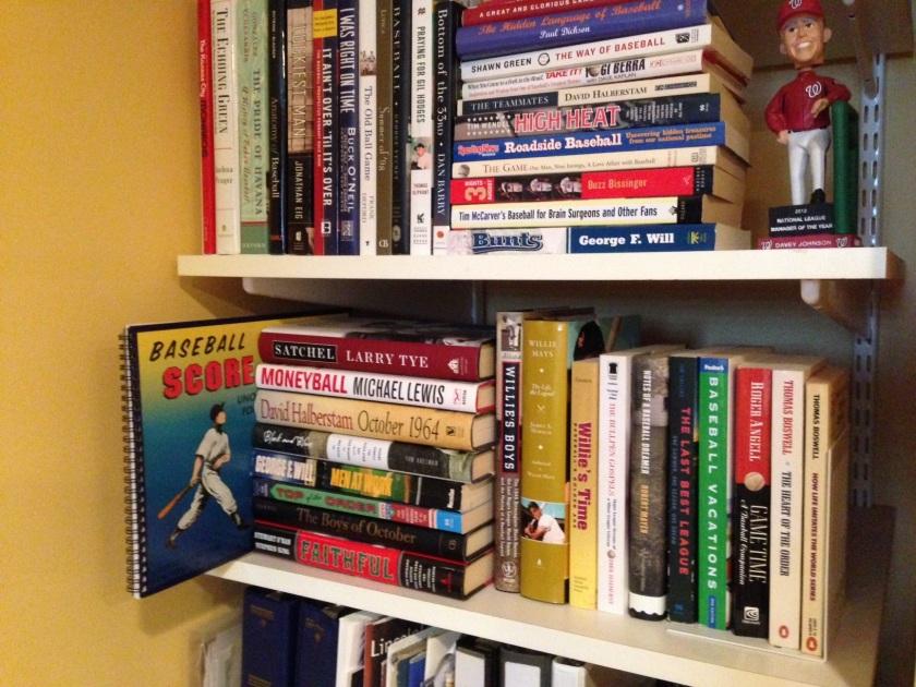 Score book back to the shelf