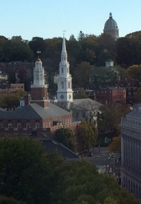 College Hill in Providence, October 2014