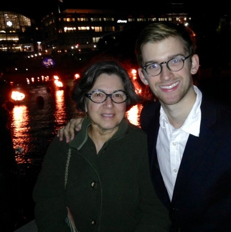 Candice and Andrew at WaterFire