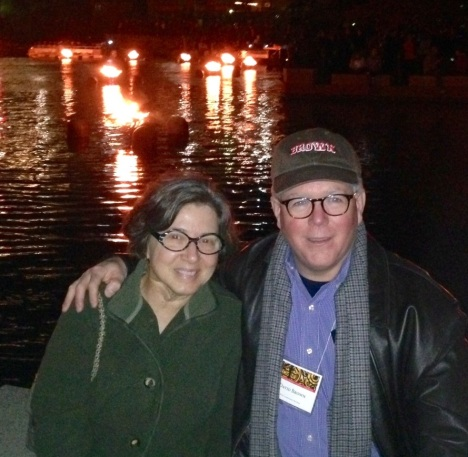 Candice and David at WaterFire