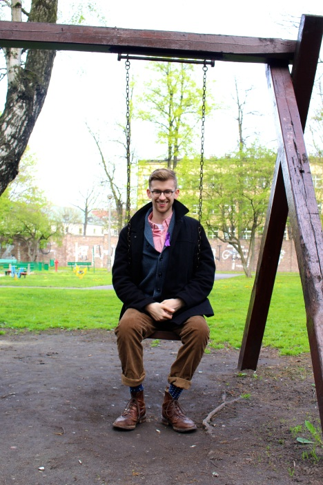 Andrew visits Krakow