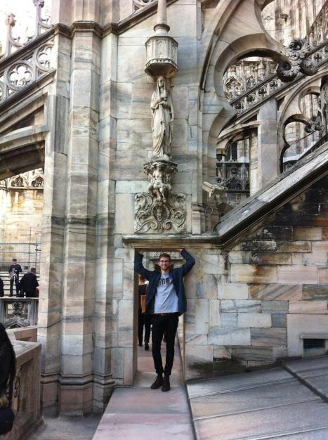 Andrew in Milan