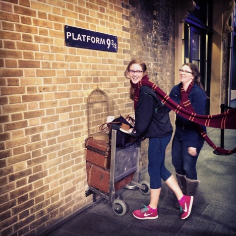 Claire and Susan off to Hogwarts
