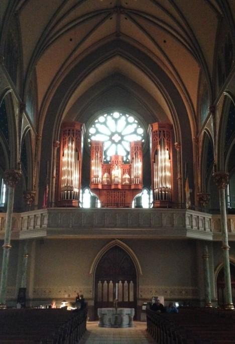 Cathedral of St. John the Baptist - Organ