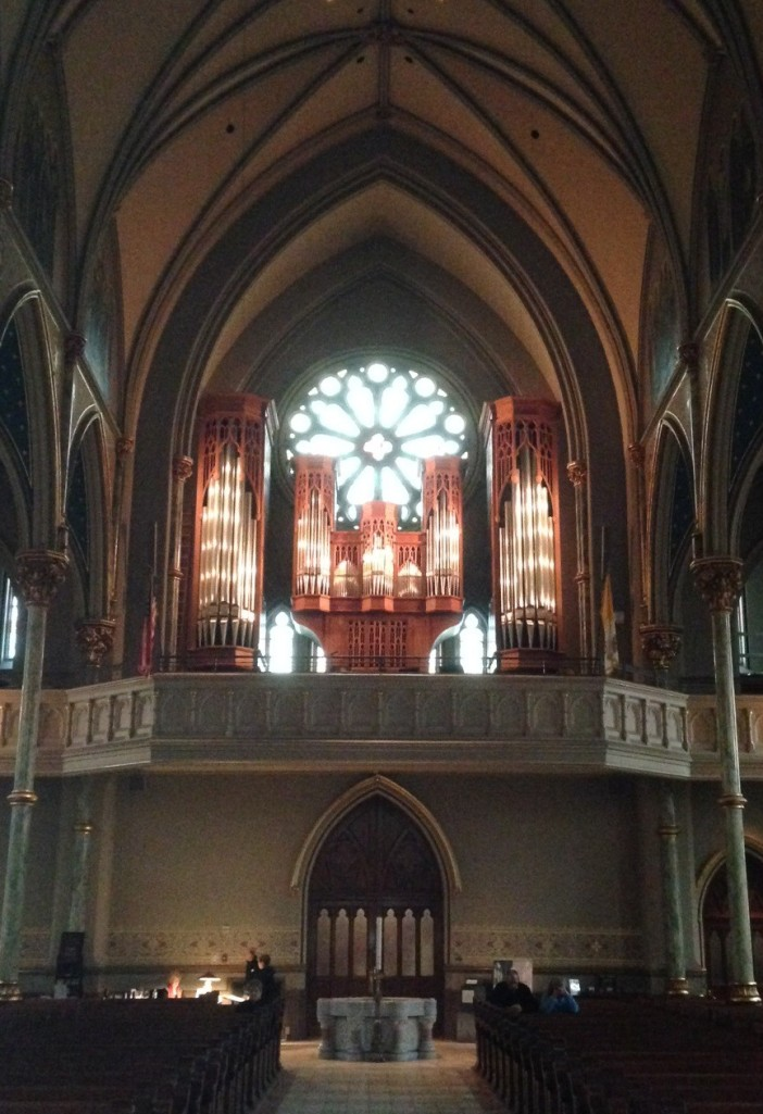 Cathedral of St. John the Baptist - Organ