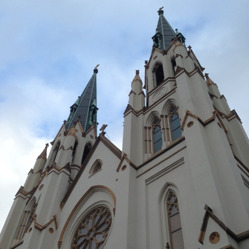 The Spires of St. John the Baptist Cathedral