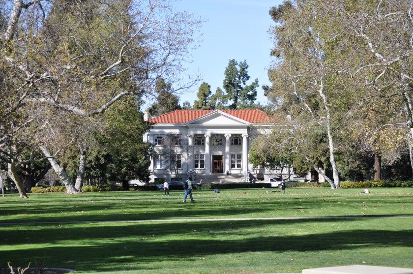 Main Quad at Pomona College