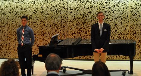 Andrew sings Mozart