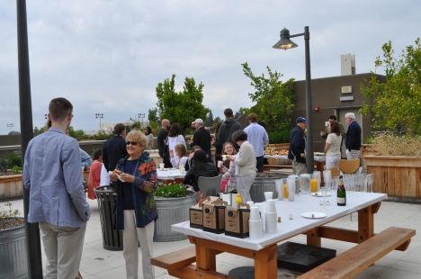 Rooftop Garden Brunch