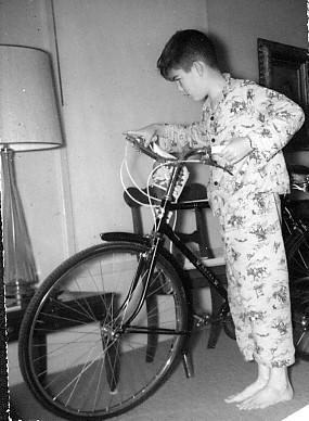 DJB on Christmas morning 1964