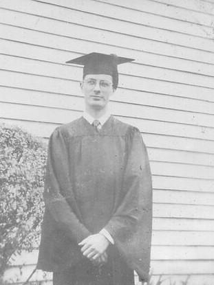 Graduation from Vanderbilt - 1949