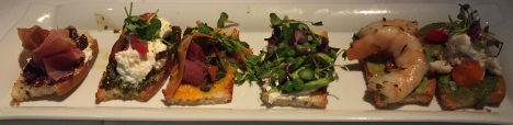 Crostini at Fig & Olive