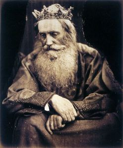 Study of King David by Julia Margaret Cameron