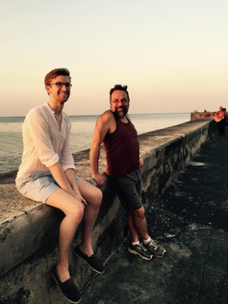 Andrew and Fred in Cuba