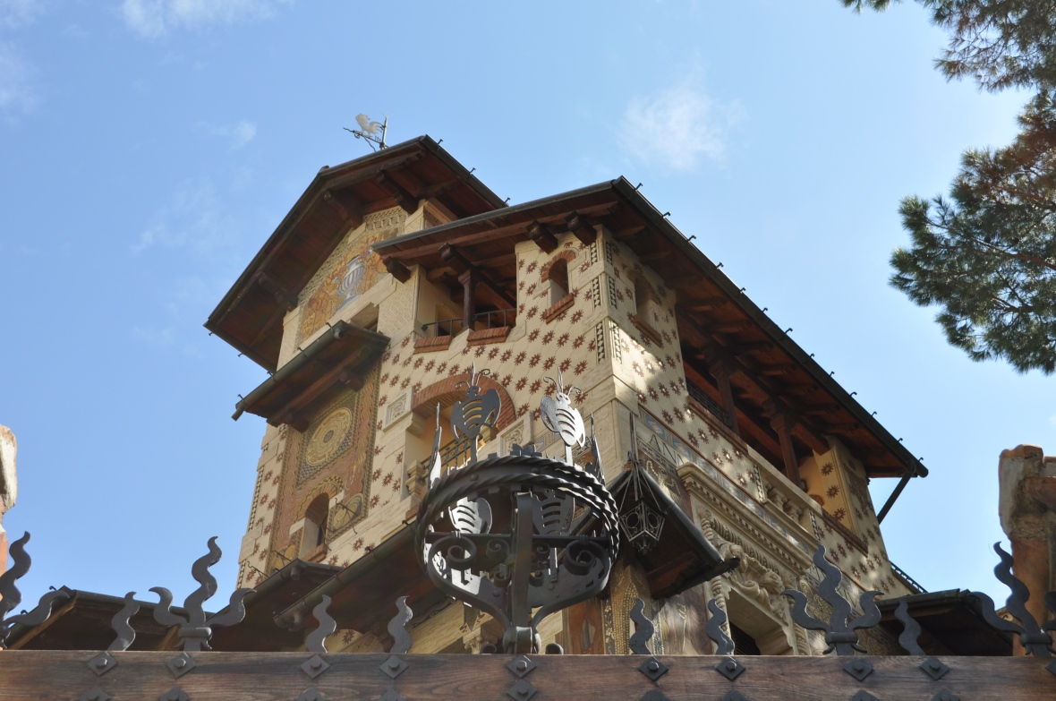 Tuscan architecture in Coppede