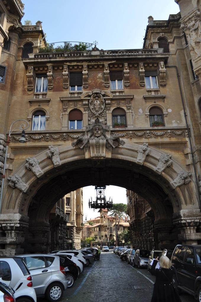 Coppede Quarter archway