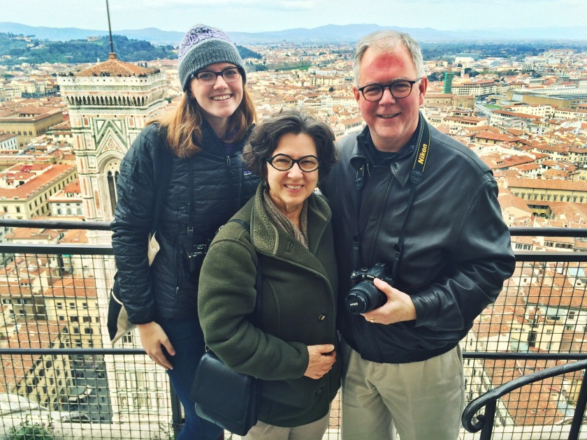 CCB, CHB, and DJB at the top of Florence