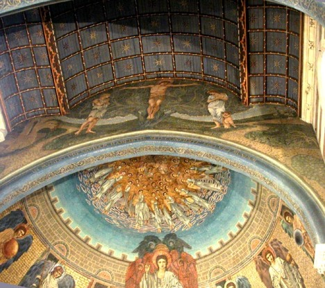 Mosaics at St. Paul's
