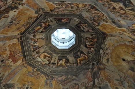Dome frescoes