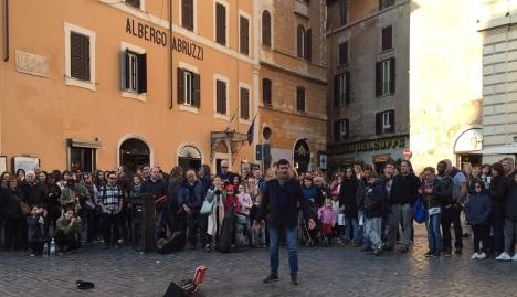 Opera at the Piazza della Rotonda