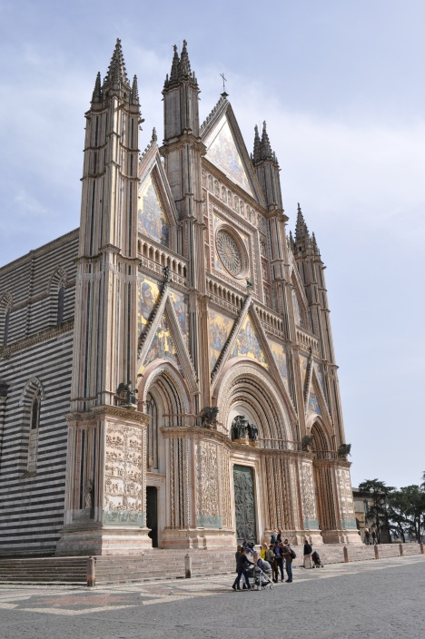 Cathedral facade