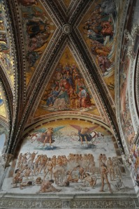 Capella Nova Frescoes