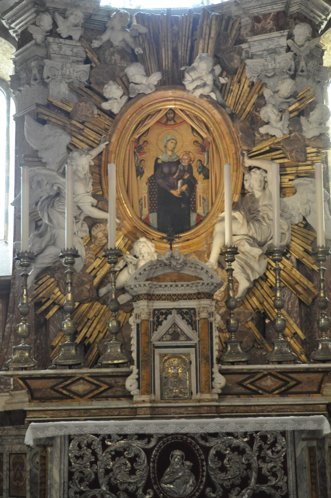 Altar in the Capella Nuova