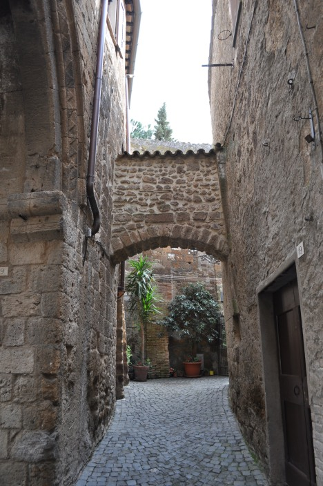 A typical street in Orvieto