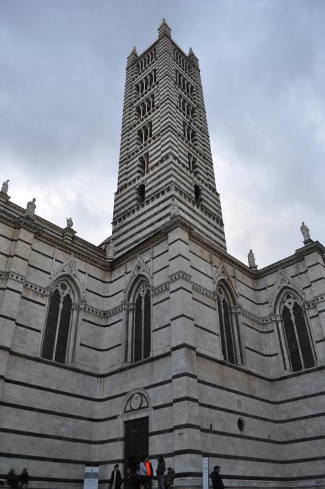 Siena Duomo tower