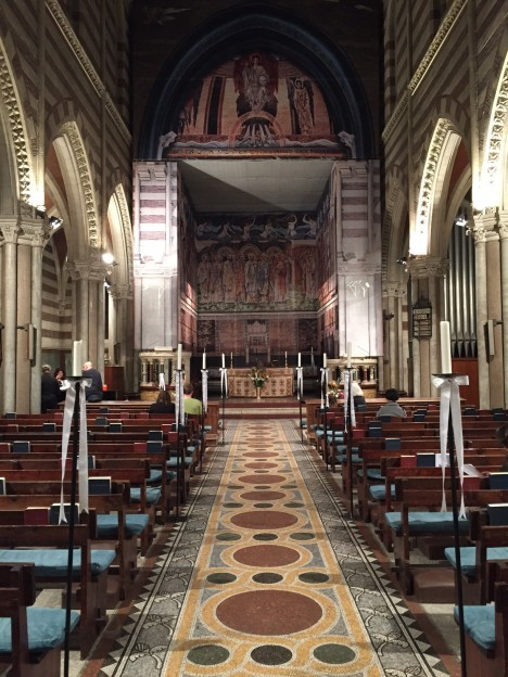 Nave and Apse at St. Paul's