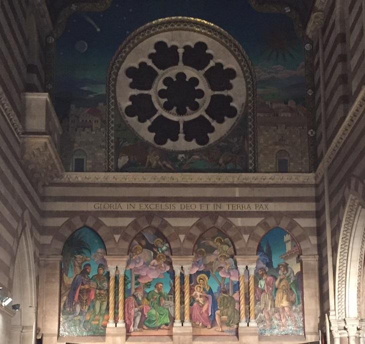 Rear Mosaic at St. Paul's