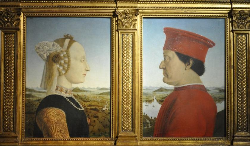 Duke and Duchess of Urbino