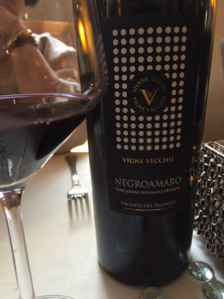 Negroamaro wine