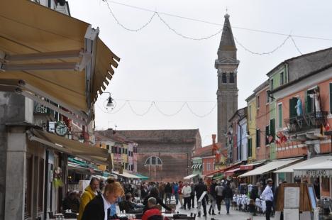 Main Street in Burano