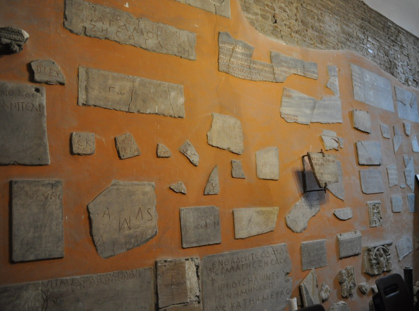 Wall of the Sacristy