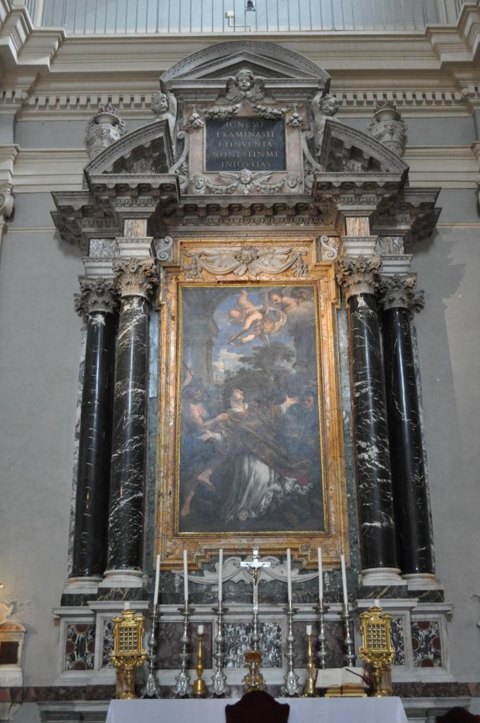 Altar in San Lorenzo in Miranda