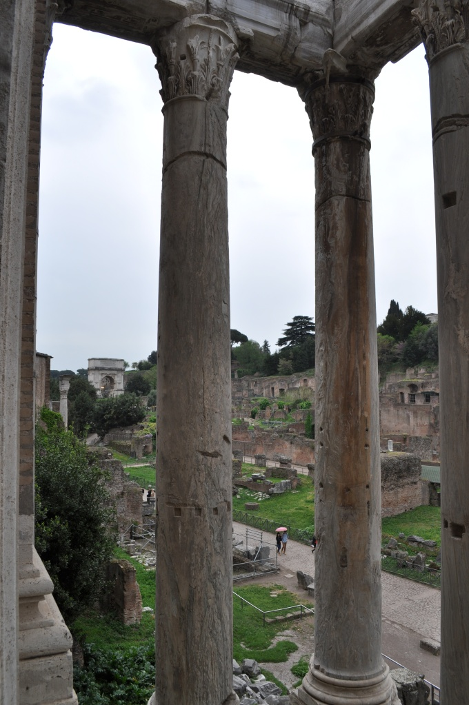 Forum View from San Lorenzo