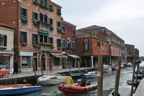 Canal view in Murano