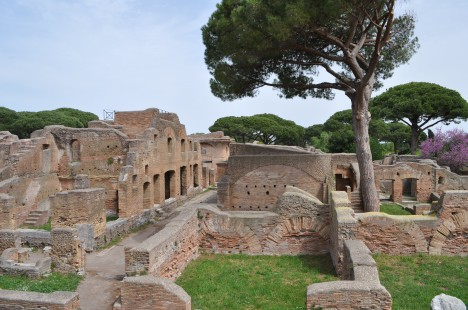 Excavations at Ostia Antica