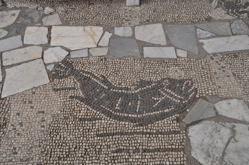 Mosaic of Fishmongers