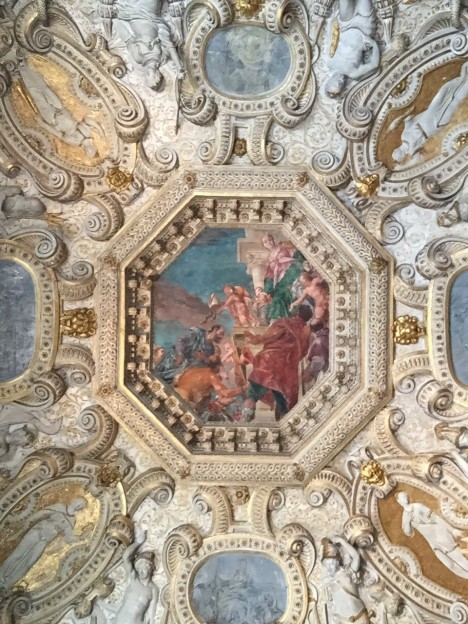 Palazzo Ducale ceiling detail