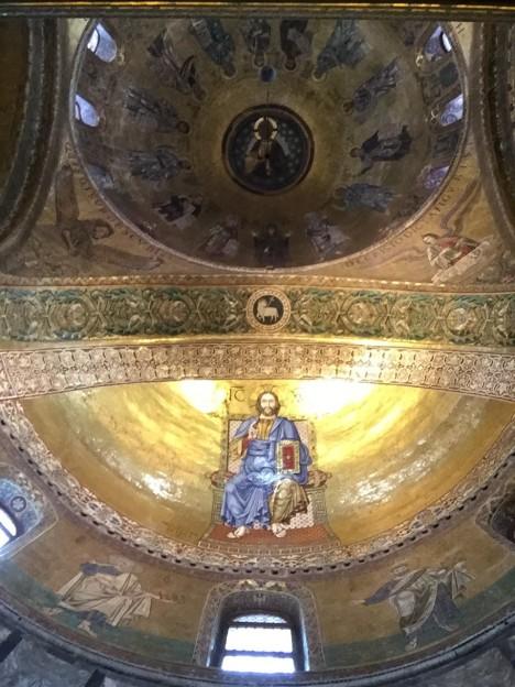Apse Detail at Basilica di San Marco