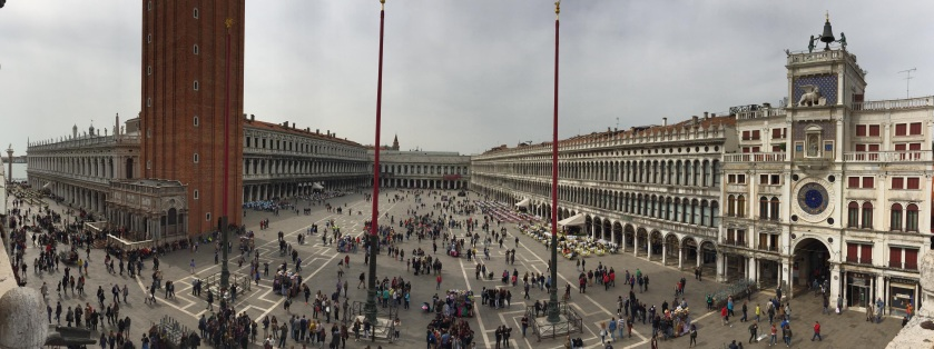 Panorama of Piazza San Marco