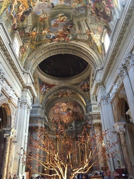 Nave at Sant' Ignazio