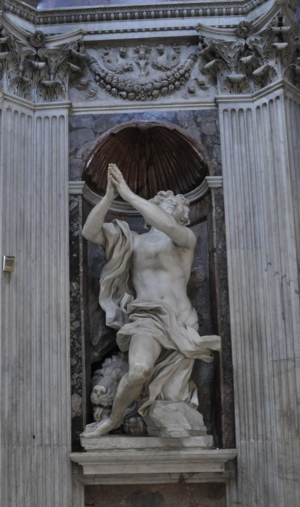 Bernini's Daniel and the Lion